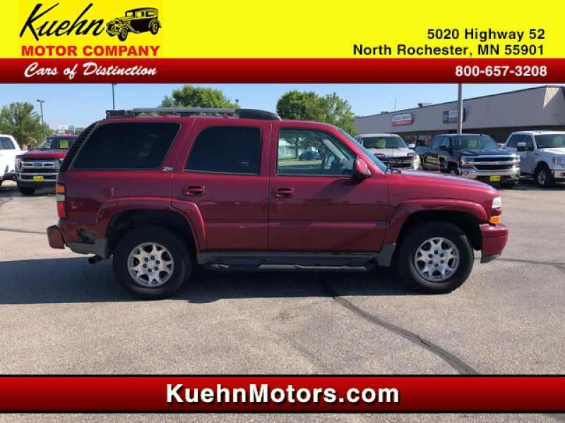2004 Used Chevrolet Tahoe Z71 3 495 Near Rochester Mn 55901 Carsoup
