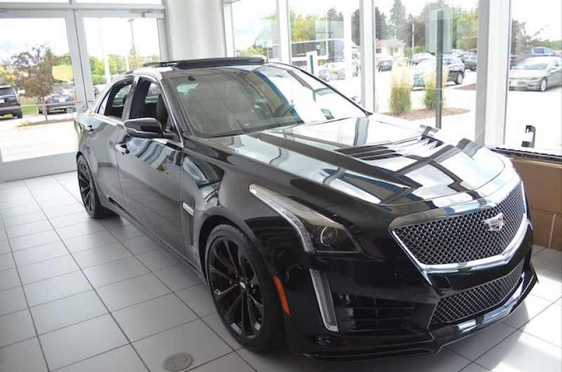 New 2018 Cadillac Cts-V 7 CarSoup