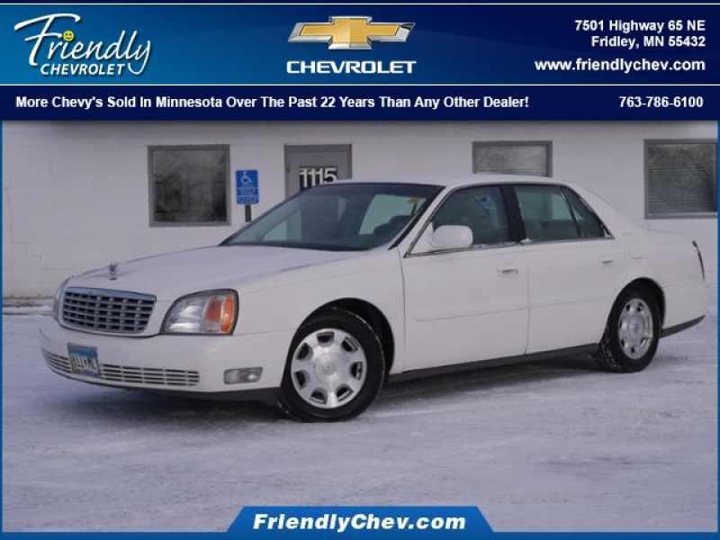 2002 Cadillac Deville Base 1 CarSoup