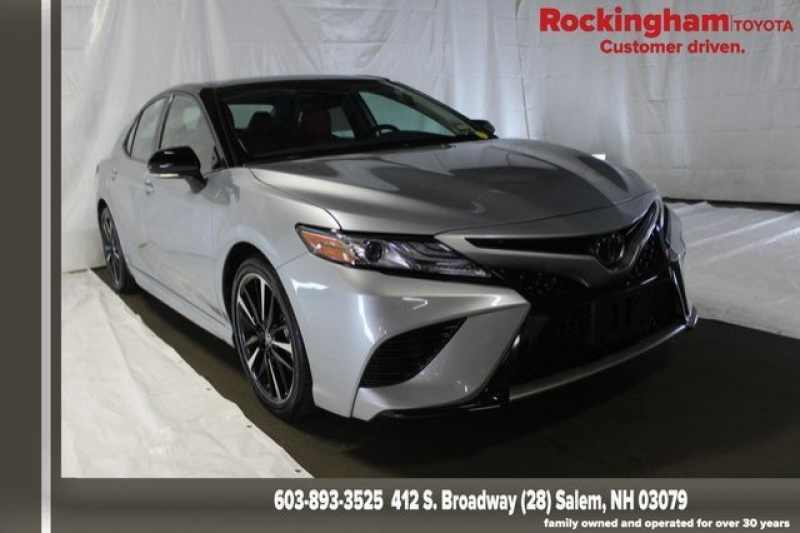 Toyota Salem Nh >> Used 2019 Toyota Camry Xse