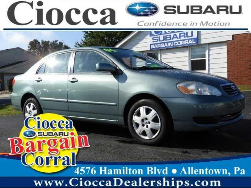 Used 2006 Toyota Corolla 11 CarSoup
