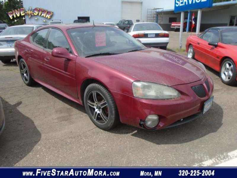 2004 Used Pontiac Grand Prix Gtp 4199 Near Mora Mn 55051 Carsoup