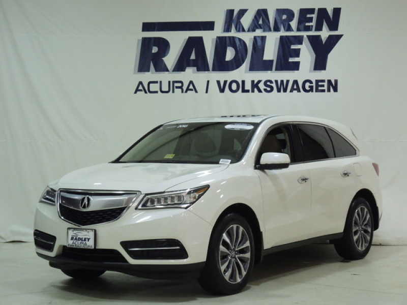 Used 2016 Acura MDX 6 CarSoup