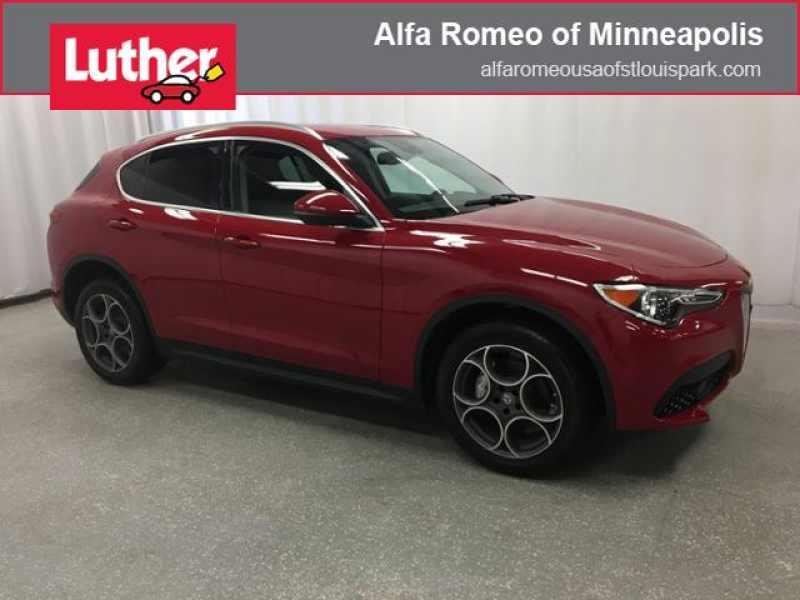 Used Cars Minneapolis >> Used 2018 Alfa Romeo Stelvio Awd