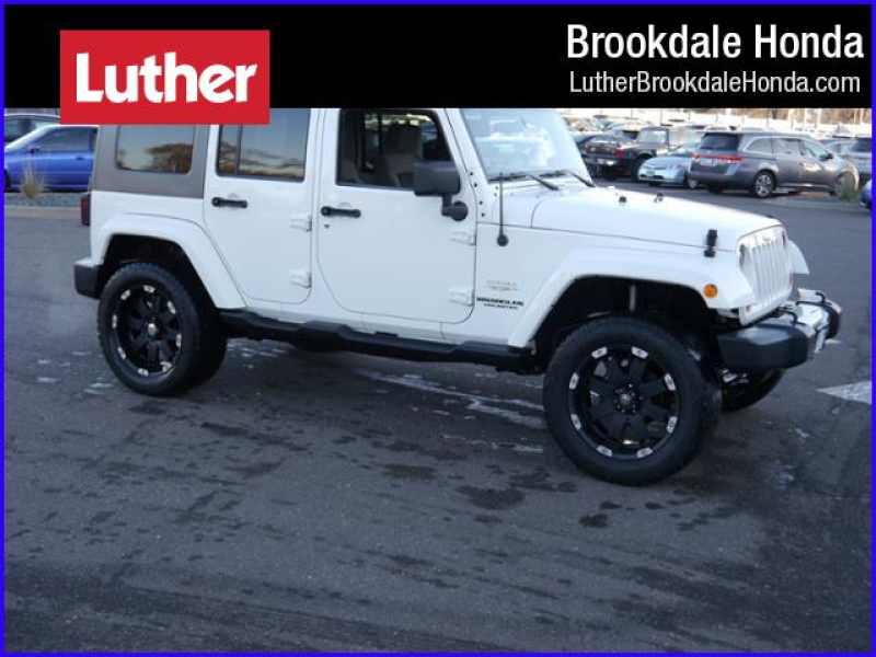 2010 Jeep Wrangler Unlimited Sahara 1 CarSoup