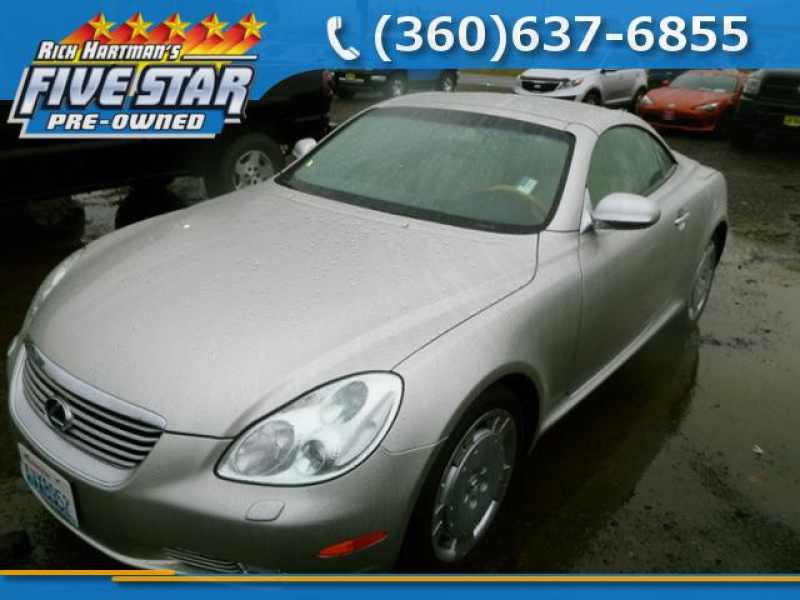 Used 2002 Lexus Sc 430 1 CarSoup