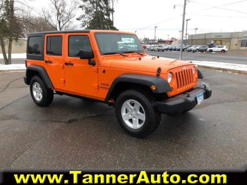 2012 Jeep Wrangler Unlimited Sport 1 CarSoup