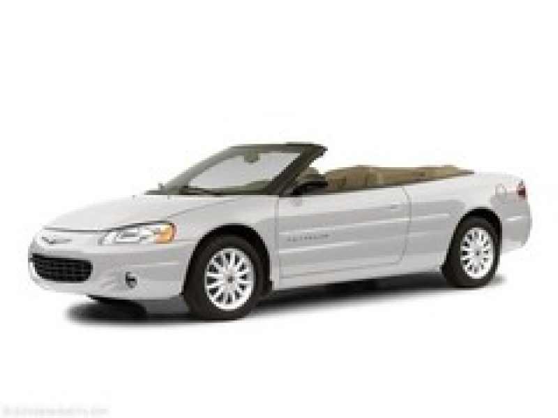 2002 Chrysler Sebring Limited 1 CarSoup