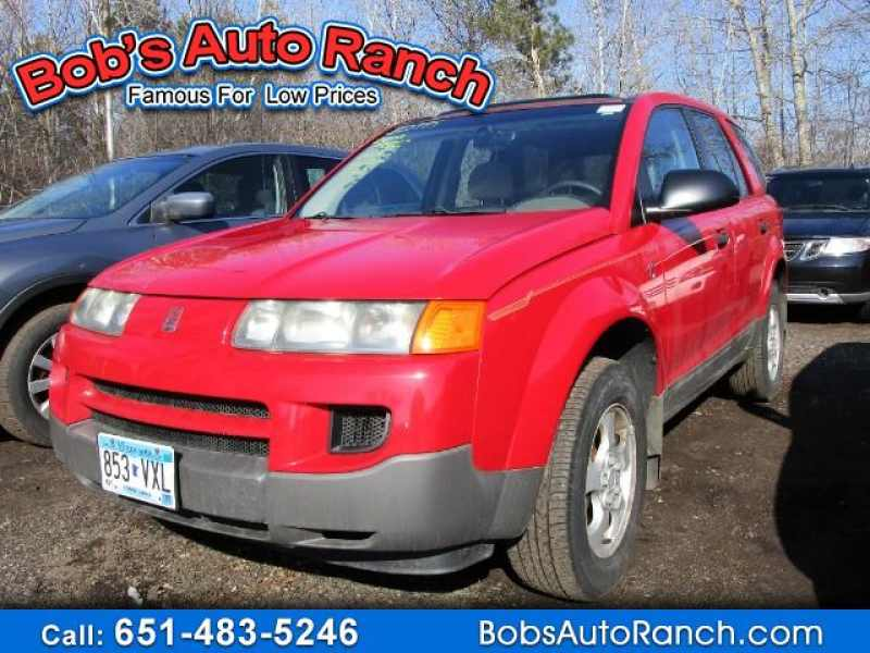 2002 Used Saturn Vue Fwd 2995 Near Lino Lakes Mn 55014 Carsoup