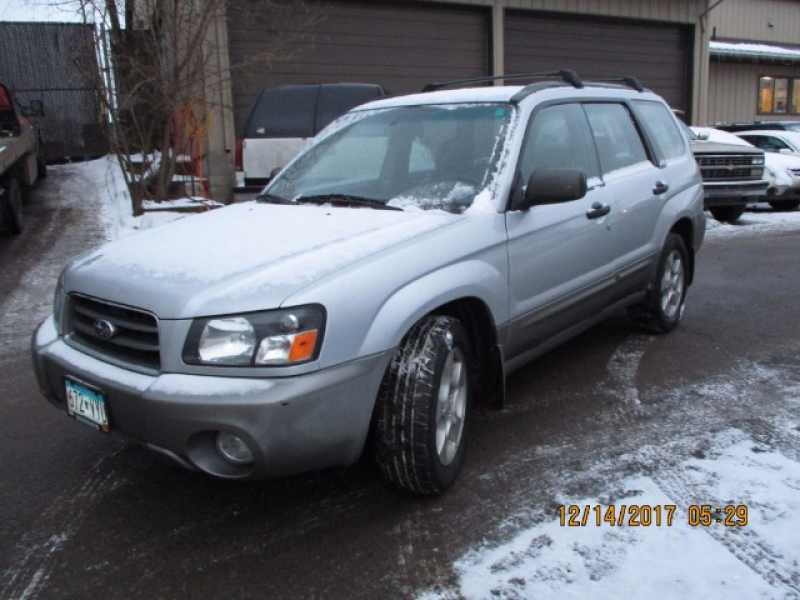 2003 Subaru Forester 2.5 XS 1 CarSoup