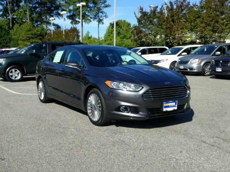 2015 Ford Fusion Titanium 1 CarSoup