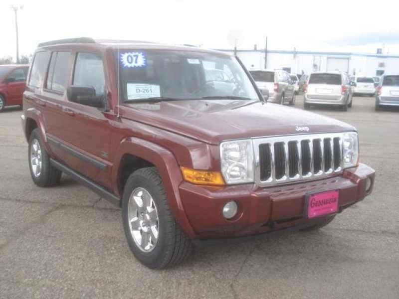 2007 Used Jeep Commander ROCKY MOUNTAIN EDITION $6,550 Near Milbank