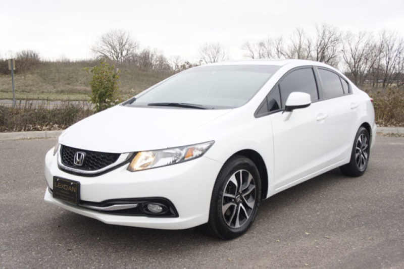 2013 Honda Civic EXL EX-L LEATHER MOONROOF 1 CarSoup