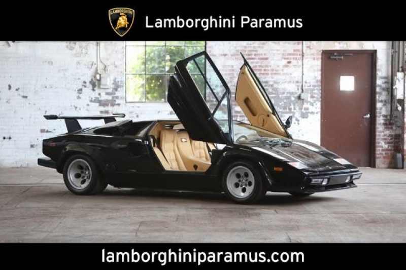 Used 1987 Lamborghini Countach 1 CarSoup
