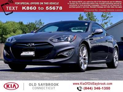 Used 2016 Hyundai Genesis Coupe 3 8l Ultimate