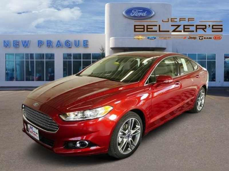 Jeff Belzer Ford >> 2016 New Ford Fusion Titanium 24 750 Near New Prague Mn 56071 Carsoup