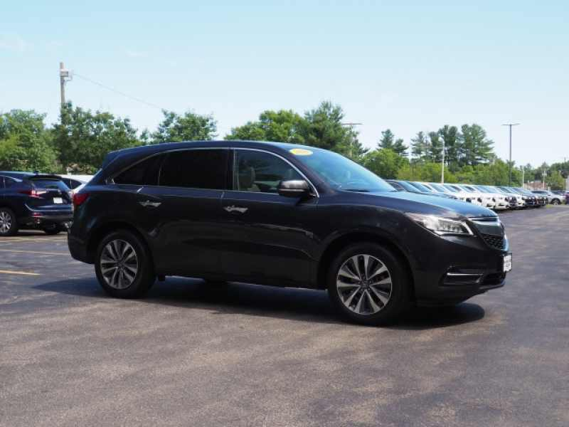 Used 2016 Acura MDX SHAWD with Technology Package