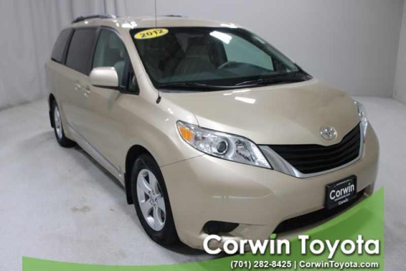 Corwin Toyota Fargo >> Used 2012 Toyota Sienna Le