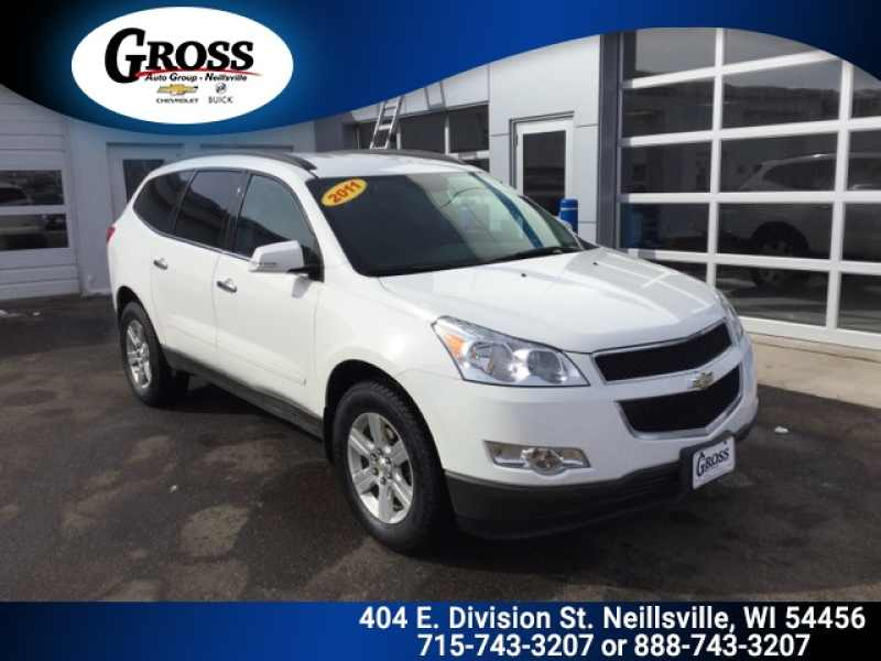 Used Chevy Traverse >> 2011 Used Chevrolet Traverse 2lt 8 590 Near Neillsville Wi 54456 Carsoup