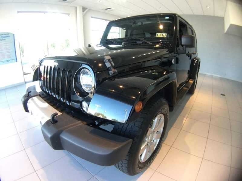 Used 2014 Jeep Wrangler Unlimited 4 CarSoup
