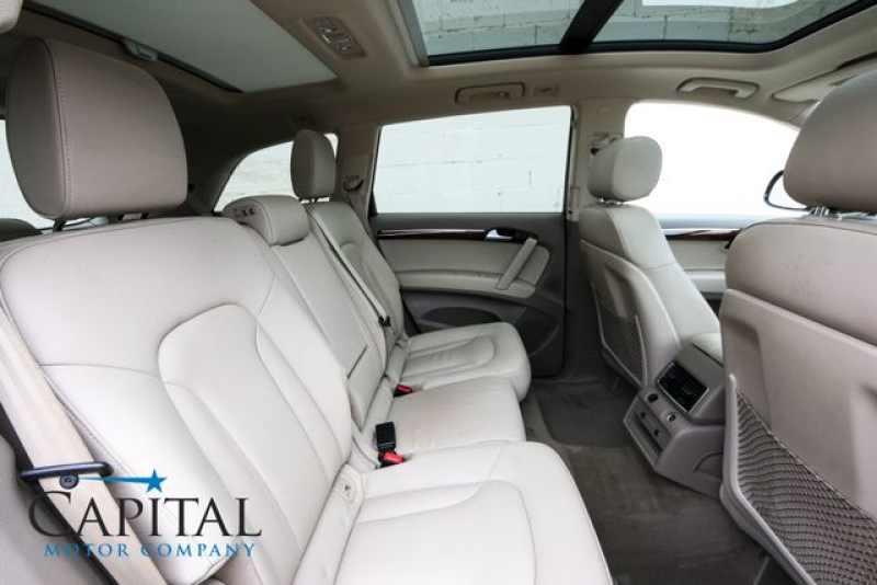 Used Audi Q Rd Row Seats Navigation Heated Seats Tow Pkg - Audi 3rd row