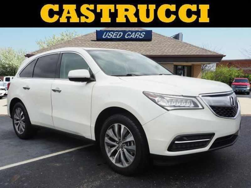 Acura Of Dayton >> Used 2014 Acura Mdx Technology Package