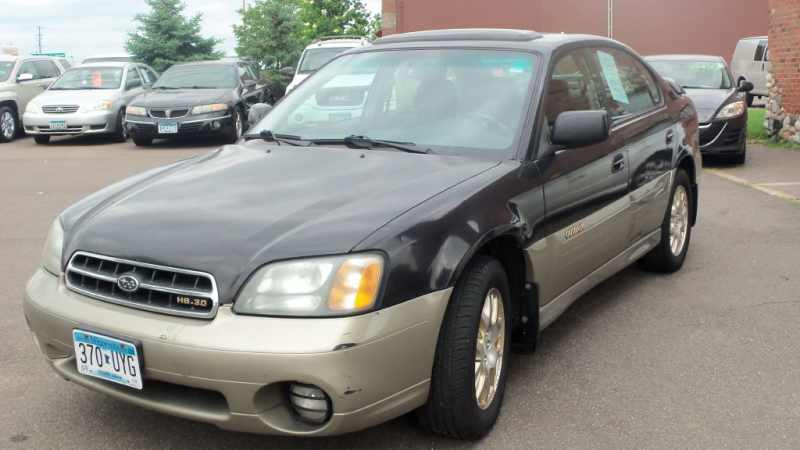 2002 Used Subaru Outback Outback 30 H6 4499 Near Stillwater Mn