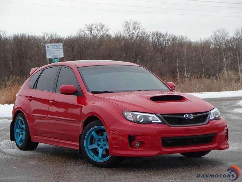 2012 Used Subaru Impreza Wrx Awd 4dr Wagon 17433 Near Burnsville