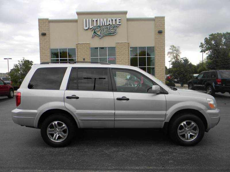 2004 Honda Pilot EX L 4dr 4WD SUV w/Leather and Entertainment System 1 CarSoup