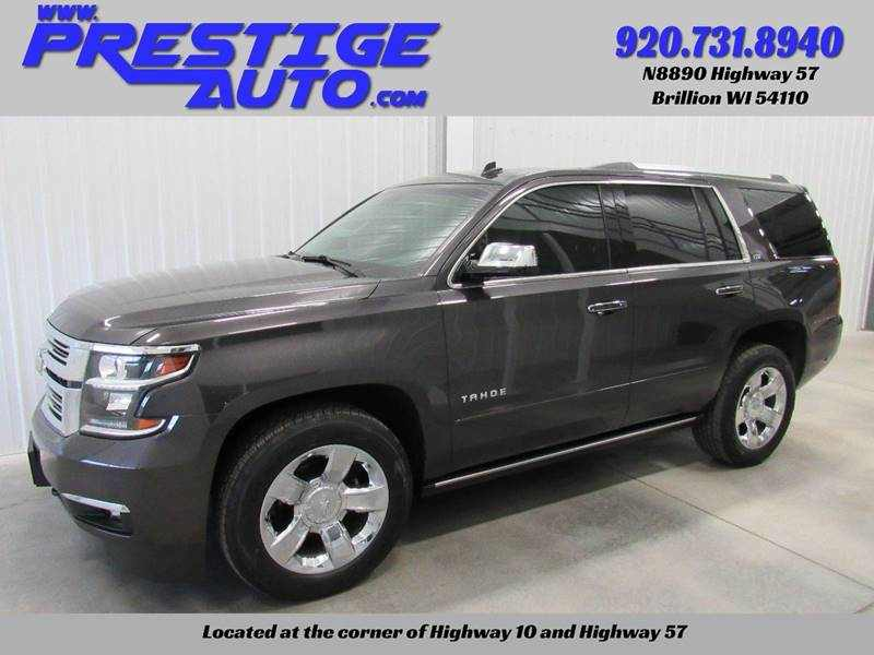 Used 2015 Chevrolet Tahoe 4 CarSoup