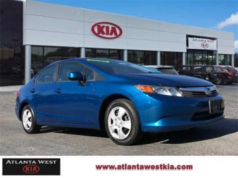 2012 Honda Civic LX 1 CarSoup