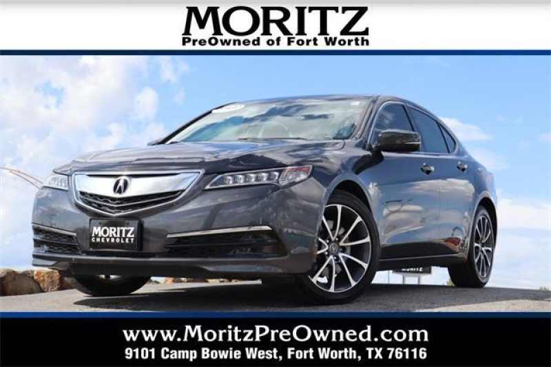Acura Fort Worth >> Used 2015 Acura Tlx Technology Package