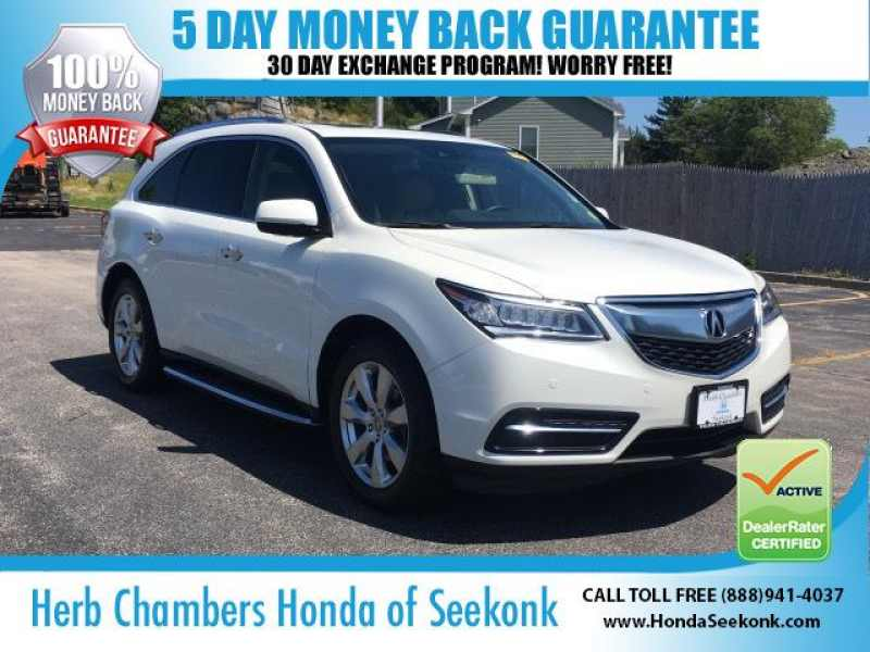 Used 2016 Acura MDX Advance and Entertainment Packages