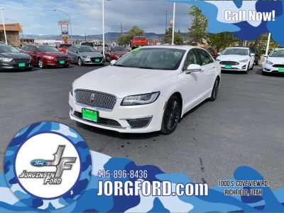 Salina Used Cars >> Used 2018 Lincoln Mkz Reserve