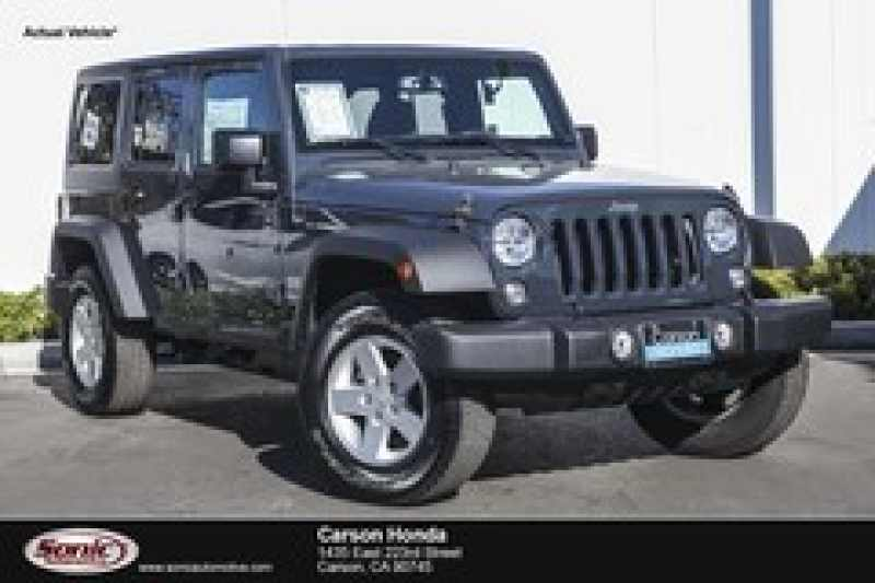 2017 Jeep Wrangler Unlimited Willys Wheeler 1 CarSoup