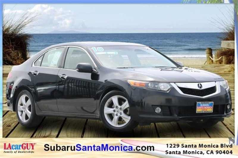 Acura Santa Monica >> Used 2010 Acura Tsx Technology Package